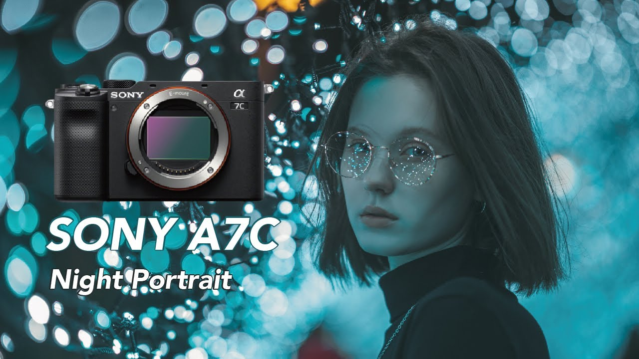 SONY A7C Night Portrait | FE 85 G MASTER | A7C 夜拍測試體驗 | TAIPEI