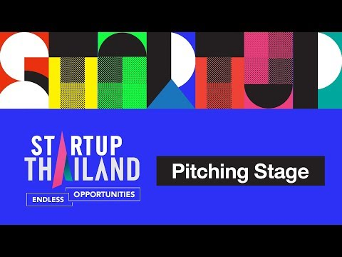 STARTUP Thailand 2018 Pitching Stage Day2