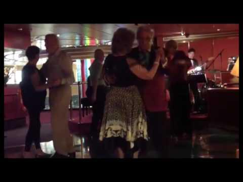 Twilight: Ballroom music aboard the MS Volendam