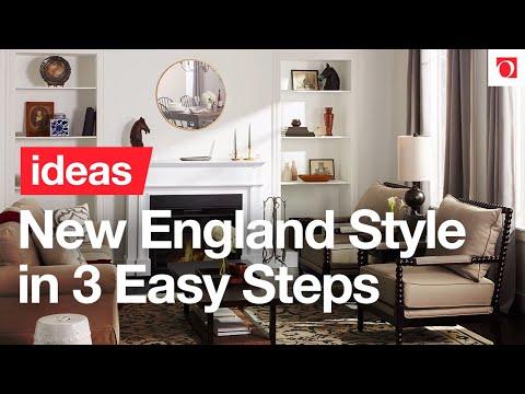3 Easy Steps to Elegant New England Décor - Overstock.com - YouTube