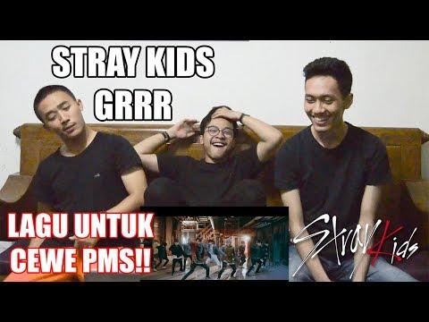 STRAY KIDS - GRRR PERFORMANCE REACTION ( LAGU MARAH MARAH!! )