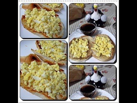 🍳🍞Vlog Pão com Manteiga na Frigideira com Ovos Gourmet com Déby & Ian👧👦