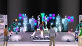 The Sims 3: Шоу-Бизнес. Выступление певицы.