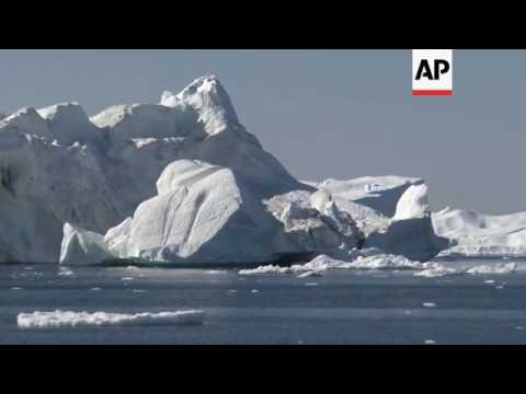 Greenland ice sheet begins melting again