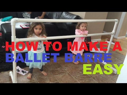 How To Make A Ballet Barre With Pvc Pipe bar