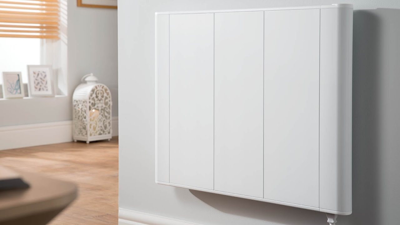 Slimline electric heaters wall mounted - Slimline Curve Electric Radiator From Best Electric Radiators