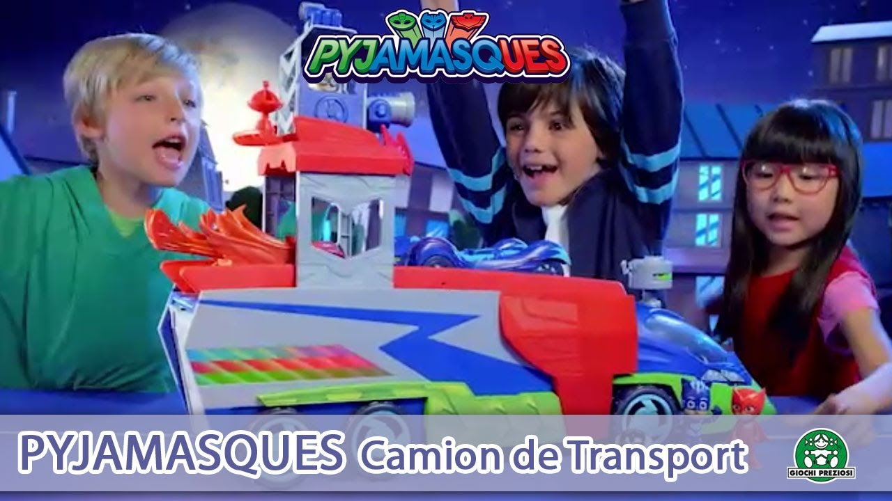 Pyjamasques / Camion de transport / Pub TV / Giochi France