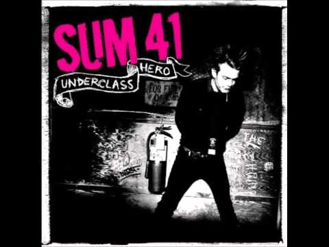 sum 41 underclass hero full album