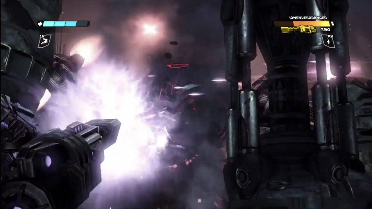 Transformers kampf um cybertron xbox gameplay part