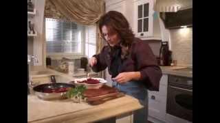 Хорошее утро  Горячий салат из свеклы