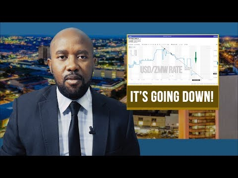 US Dollar - Kwacha Rate Is Going Down!