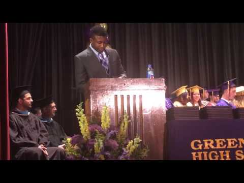Greenport high school Commencement speech