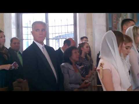 Венчание копта и русской в Армянской церкви в Петербурге. Часть 1