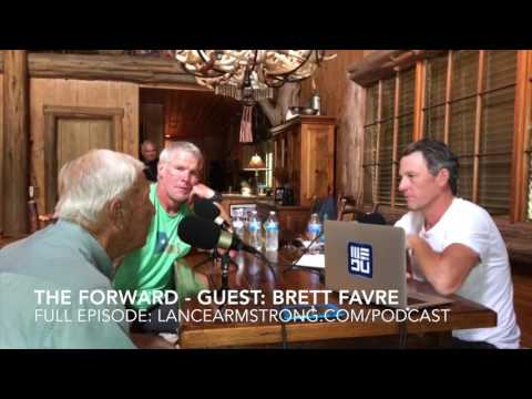 Brett Favre Talks Fans, Bitterness, & Retirement with Lance Armstrong