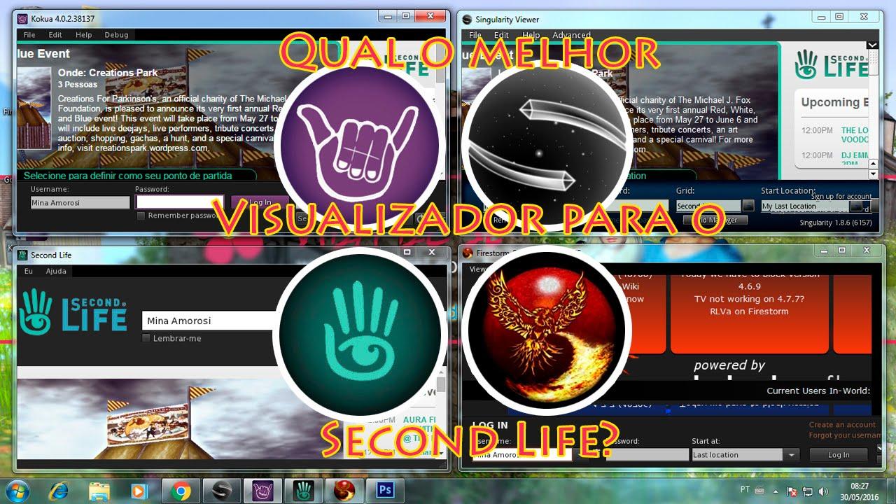 Best Second Life Viewer 2021 Qual o melhor Visualizador para o Second Life?   YouTube