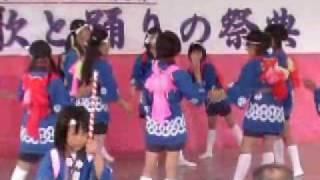 福井県 北潟どっしゃどっしゃ踊り(子供会)