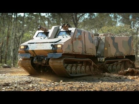 BAE Systems - BvS10 Goanna All-Terrain Amphibious Protected Vehicle [1080p]