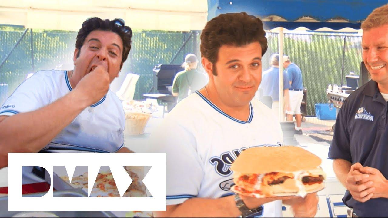 Adam v The Fifth Third Burger | Man V Food