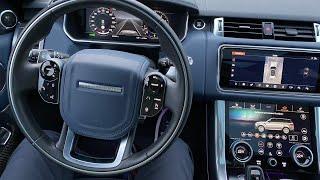 Range Rover Sport 2020 - разбор эргономики и салона (куда жать-то?)