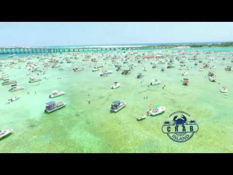 Destin Florida World Famous Crab Island - 850-865-0581