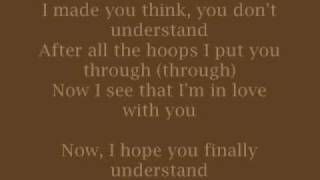 Christina Aguilera - Understand w/lyrics