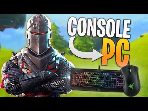 Console Player Trying PC Fortnite! - PC Fortnite Solos Game!