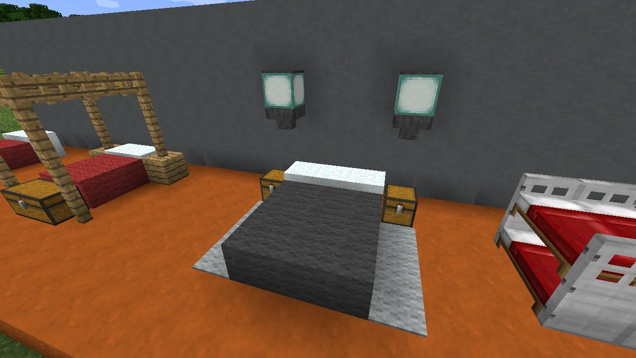 Майнкрафт как сделать кровать без шерсти фото 264