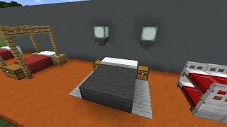 Красивые кровати в майнкрафт - Как сделать?(Новенькая рубрика с советами по обустройству ваших построек в ванильном майнкрафте! Поддержите видео..., 2014-12-07T17:47:27.000Z)