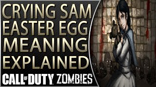 The Giant Screaming Samantha Easter Egg | The Crying Samantha Easter Egg Meaning