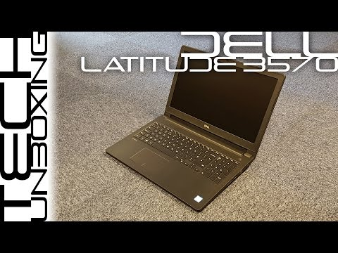 New Dell Latitude 3570 (2016) Unboxing