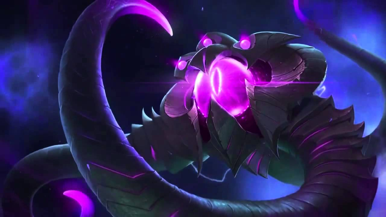 velkoz league of legends login screen with music youtube