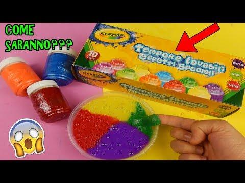 Download Youtube: SLIME CON COLORI AMERICANI COMPRATI DA AMAZON! COME SARANNO Iolanda Sweets
