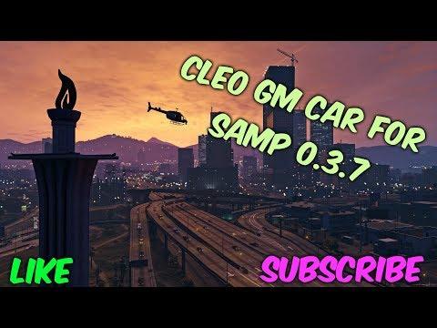 [CLEO] GM Car. Зажимной и с активацией. SAMP 0.3.7