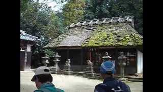 山の辺の道 夜都伎神社
