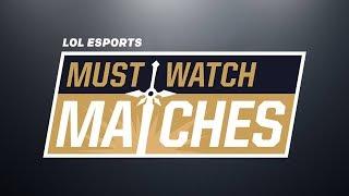 Must Watch Matches Spring 2018 Episode 2: 100 vs. FOX | VIT vs. G2 | SS vs. RW