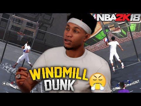 NBA 2K18 Playgrounds: Windmill Dunking With A Sharpshooter?!? Got Bunnies!