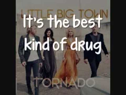 Little Big Town - Sober [Lyrics On Screen]