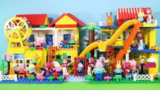 Peppa Pig Building Lego House Toys For Kids - Lego House Creations Toys #7