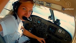 FIRST SOLO FLIGHT -  Piper Archer  -  Student Pilot