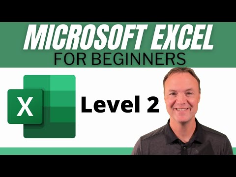 Microsoft Excel Tutorial - Beginners Level 2