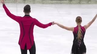 Анастасия Мишина Александр Галлямов Bavarian Open 2020 Произвольная программа