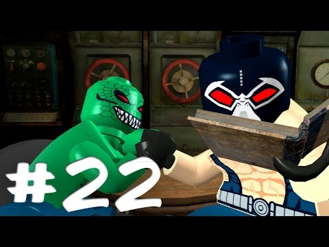 Road to Arkham Knight - Lego Batman Walkthrough - Part 22 - Team Bane & Penguin