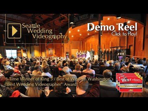 "Seattle Wedding Videography presents ""2017 Wedding Demo Reel"" - by Ryan Graves"