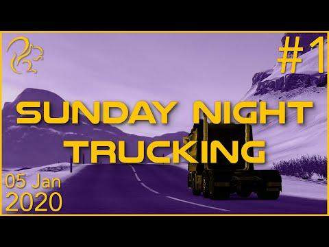Sunday Night Trucking   5th January 2020   1/6   SquirrelPlus