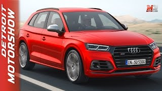 New audi SQ5 2017 - first test drive only sound