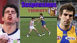 Worst AFL Suspensions of the Modern Era