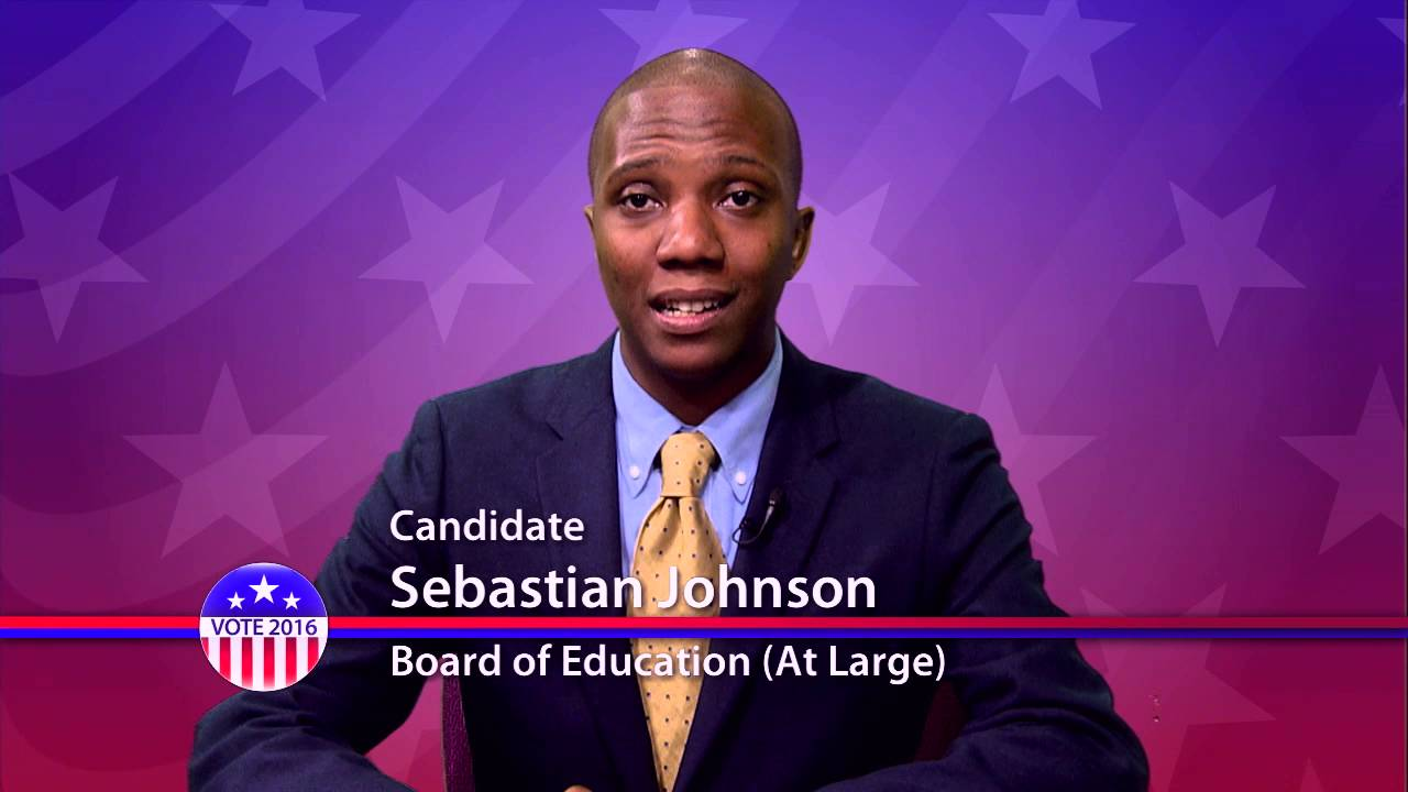 Sebastian Johnson, Candidate for Board of Education - Primary Election