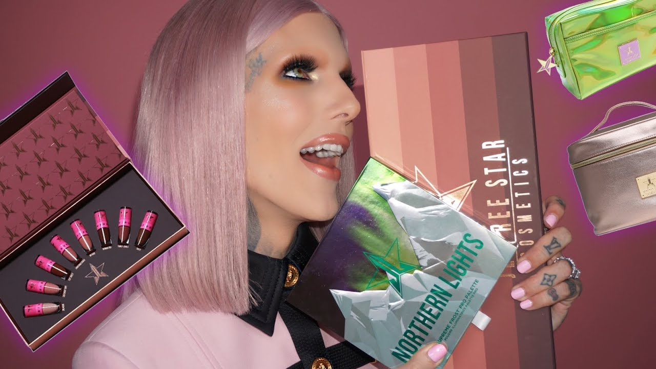 NORTHERN LIGHTS PALETTE REVEAL & SWATCHES | Jeffree Star Cosmetics