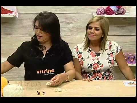 Vestido Porta Pano de Prato com Maria José - Vitrine do Artesanato na TV