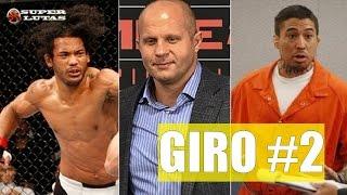 GIRO SUPER LUTAS #02 - UFC Coreia| Novo Pride | War Machine, Christy Mack | Aldo x McGregor e mais